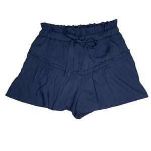 English Factory Paper Bag Waist Shorts Tie Front S